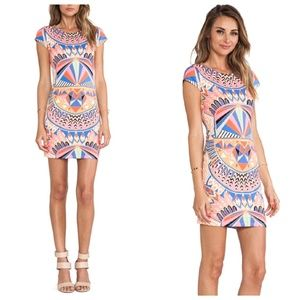 •Mara Hoffman• Cap Sleeve Mini Dress